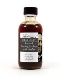 Alchemist Amber Resin Varnishes and Oil Painting Mediums