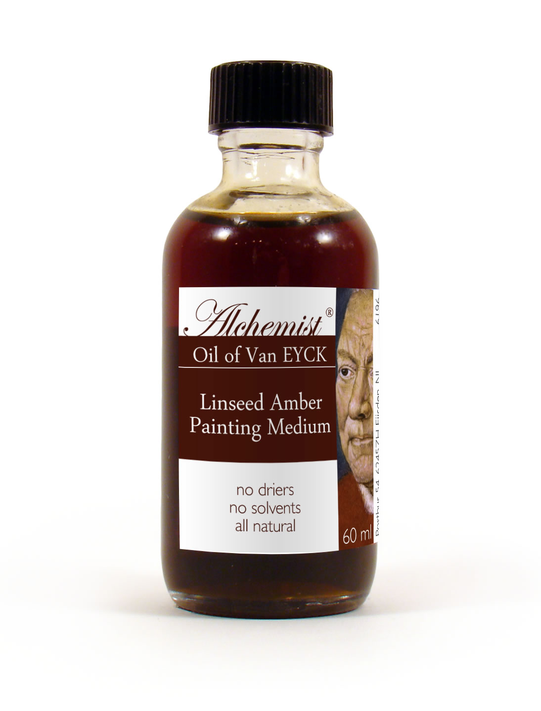 Oil of Van Eyck Linseed Amber Painting Medium